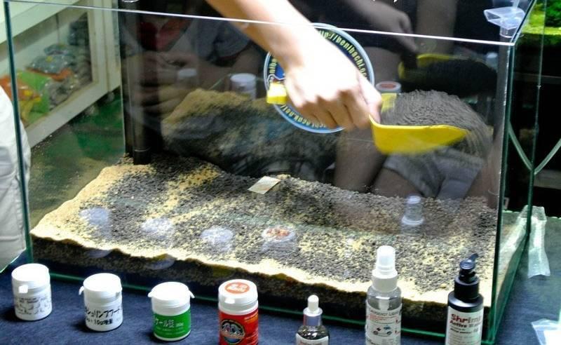 Грунт для аквариума для растений