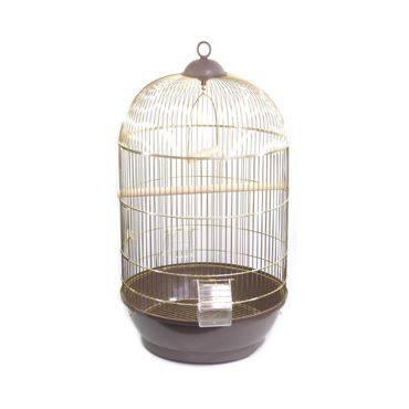 Круглая клетка для попугая